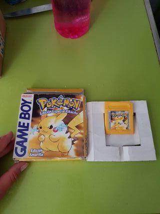pokemon amarillo game boy