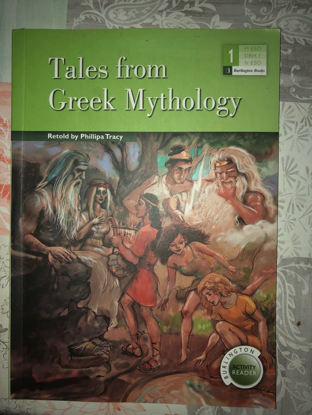 Libro tales from Greek Mythology