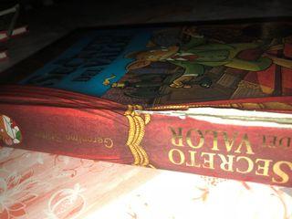 Libro Geronimo Stilton, el secreto del valor