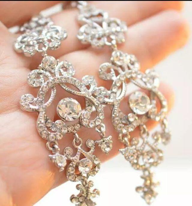 Preciosos pendientes Joya para novia o invitada