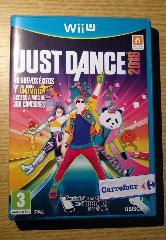 Juego Wii U Just Dance 2018 De Segunda Mano Por 15 En Vilafranca