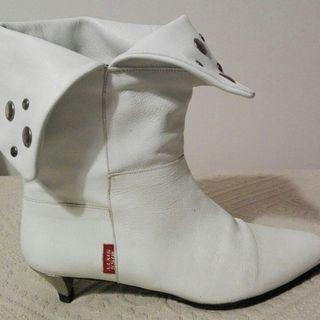 Botas blancas Miss Sixty +bolso