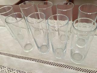 10 vasos tubo