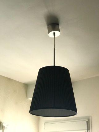 lampara techo negra ikea