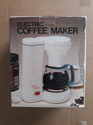 Cafetera eléctrica nueva sin estrenar