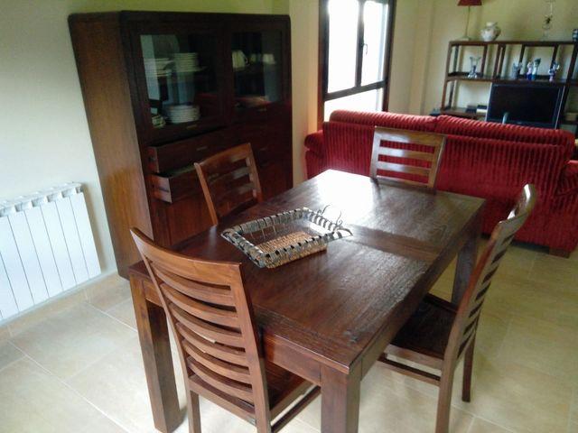 Conjunto comedor completo madera de segunda mano por 790 € en ...