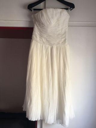 vestido de novia cortos de segunda mano en barcelona en wallapop