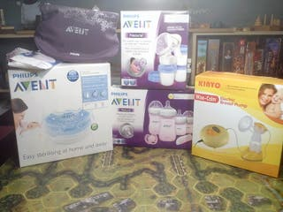 PACK LOTE PHILIPS AVENT PREMAMA