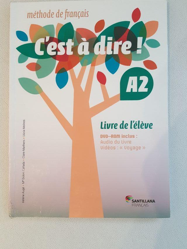 Libro Francés nivel A2 Santillana