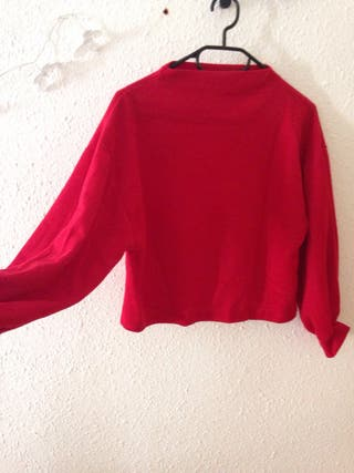 Sweat corto rojo L