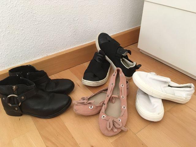 0888298db7a Zapatos niña Zara talla 28 de segunda mano por 10 € en Casarrubuelos ...