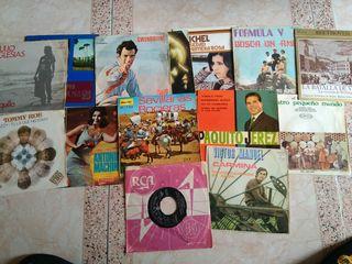 Lote de singles de vinilo años 60-70