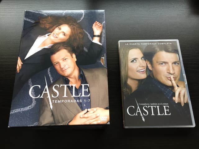 Pack DVDs Serie Castle Temporadas 1 a 7 de segunda mano por 65 € en ...