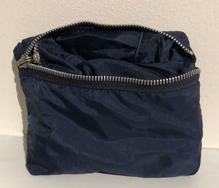 sac pliable toile nylon fourre-tout marine