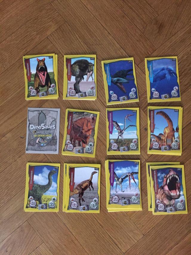 Cartas Dinosaurs 3DDinocards App