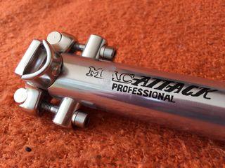 Tija de sillín Kalloy MacAtack 31,4 mm