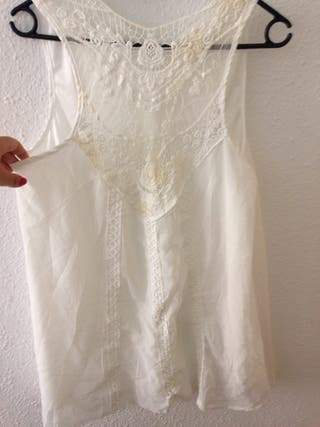Vestido Blanco corto nueva talla 40