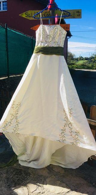 vestido de novia de segunda mano en la provincia de asturias en wallapop