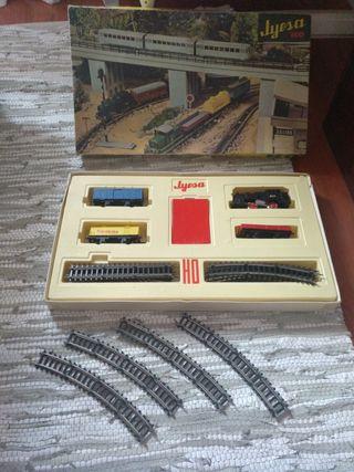 Tren eléctrico jyesa