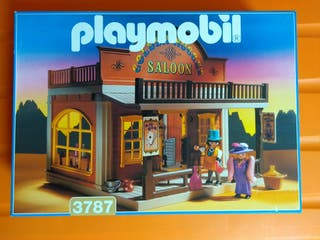Playmobil 3787. Salón oeste. Como nuevo.