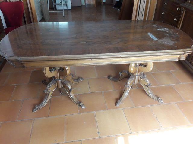Mesa Comedor Antigua | Mesa Comedor Antigua De Segunda Mano Por 100 En Ibi En Wallapop