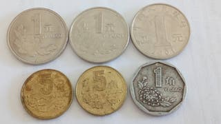 monedas China