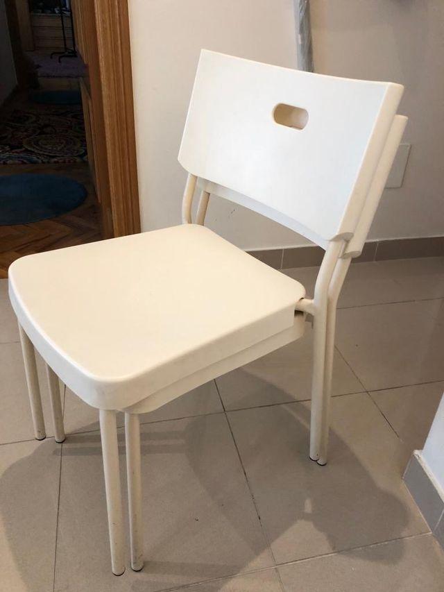 Conjuntos 2 sillas comedor Ikea de segunda mano por 30 € en A Coruña ...