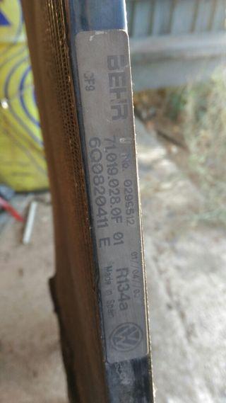 Se vende radiador seat ibiza