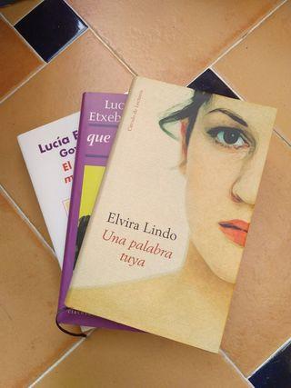 Lucia Etxebarria y Elvira Lindo