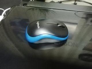 Ratón inalambrico azul LOGITECH