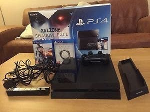 PS4 console and games