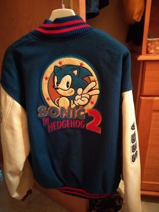 Chaqueta oficial Sonic 2, SEGA.
