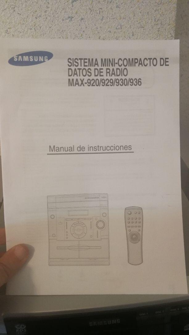 Cadena musica Samsung (Chollo)