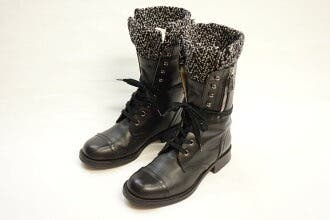 Genuine Chanel Boots Size 5