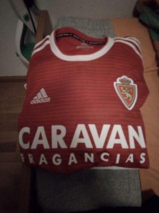 camiseta oficial del real Zaragoza