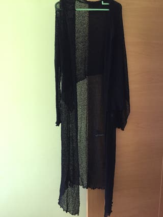 Rebeca negro de lana