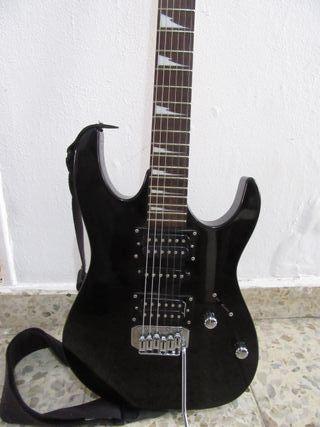 Guitarra electrica IBANEZ negra