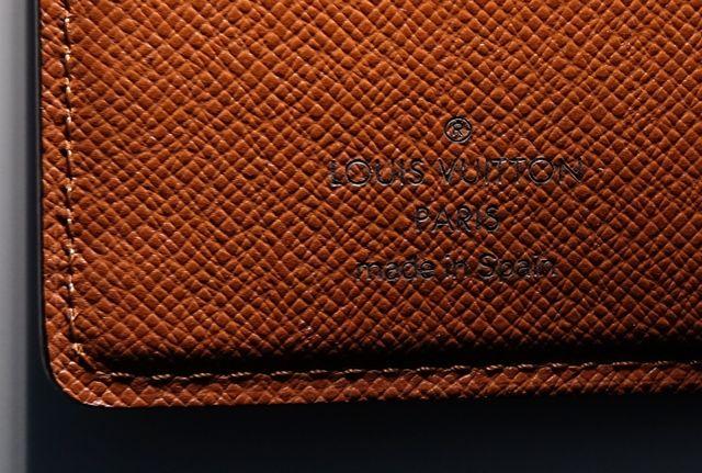 Louis Vuitton. auténtico. Funda agenda.