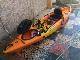Kayak de pesca wilderness tarpon 120 + sonda nueva