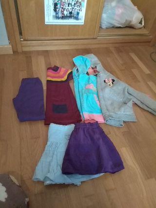 lote de ropa niña talla 3 - 4