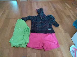 lote de ropa niña talla 7 - 8