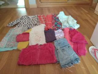 Lote de ropa niña talla 5 -6