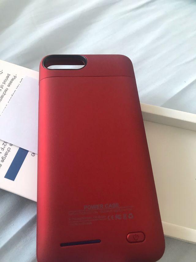 ddd8e16d0b4 Funda batería iPhone 7/8 plus de segunda mano por 18 € en A Coruña ...