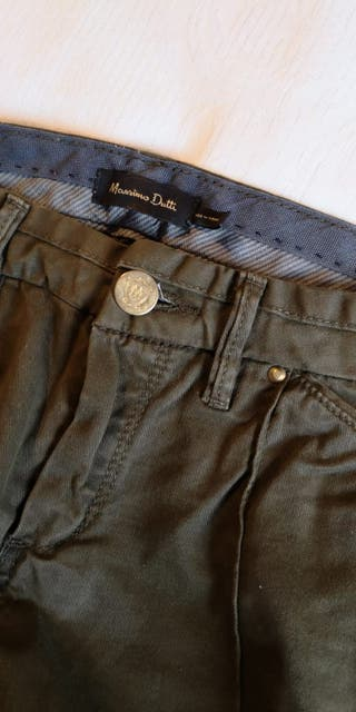 Pantalones Massimo Dutti de segunda mano en A Coruña en WALLAPOP 924acfc9c573