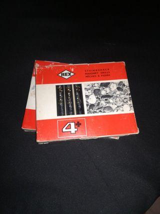 Brocas vidia 3 cajas x 10€