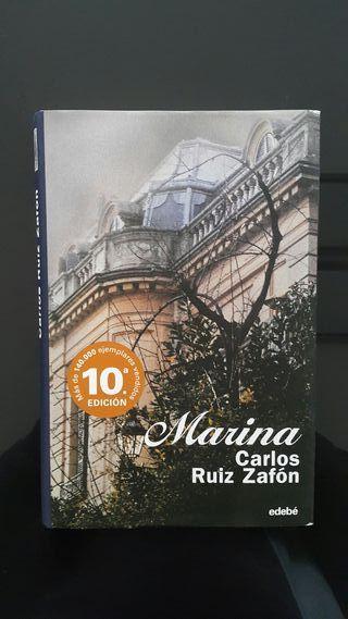 Libro MARINA. Autor: Carlos Ruiz Zafón