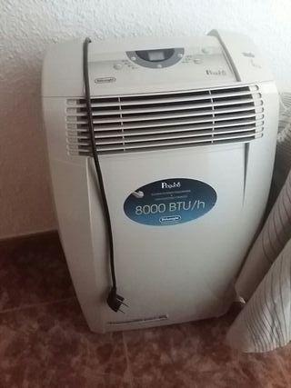 aire acondicionado portátil Delongi pinguino