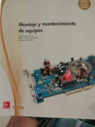 Montaje y mantenimiento de equipos. Sin usar
