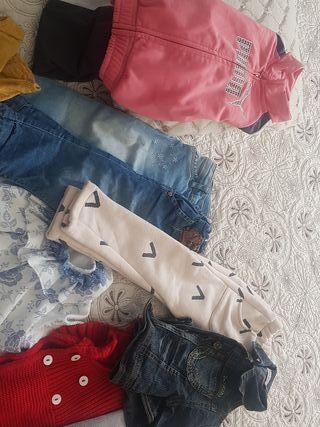 Lote ropa niña de 18 a 24 meses