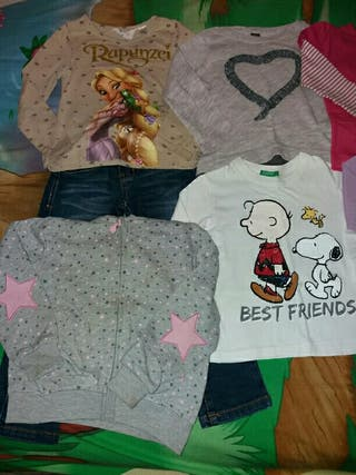 Lote de ropa de otoño talla 2-3 años